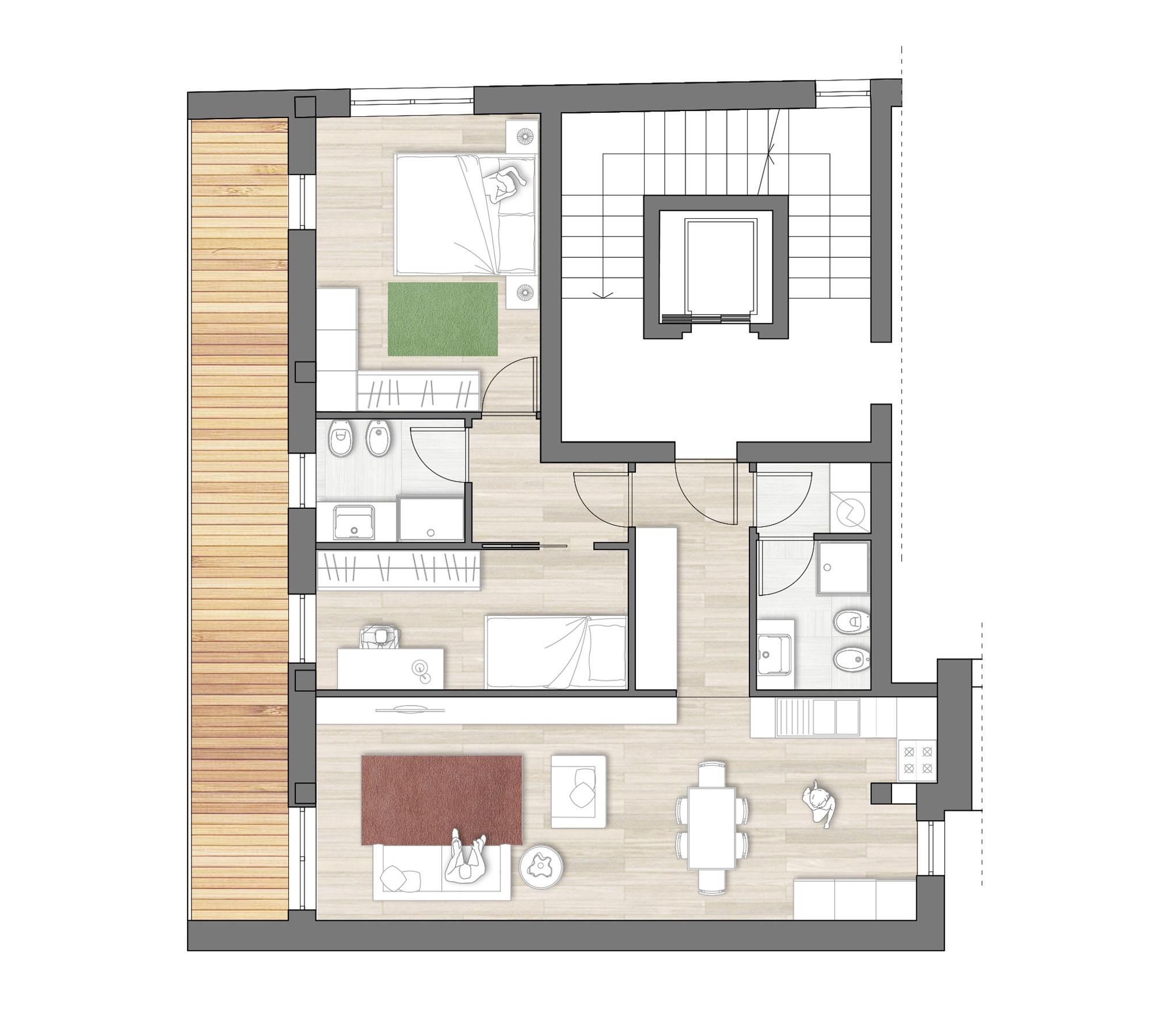 Beautiful top elegant i componenti della casa moderna for Piani domestici su ordinazione arizona